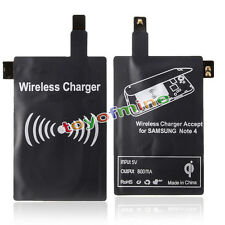 Qi Caricabatterie Wireless Receiver di ricarica per Samsung Galaxy Note 4 N9100