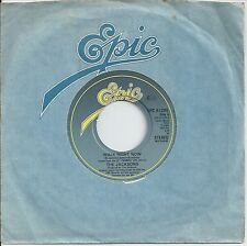 "The Jacksons - Walk Right Now 7"" Vinyl 1981"