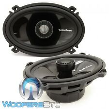 "ROCKFORD FOSGATE T1462 POWER 4""X6"" 2-WAY ALUMINUM TWEETERS COAXIAL SPEAKERS NEW"