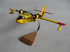 Canadair CL-215 Scooper Airplane Desktop Wood Model
