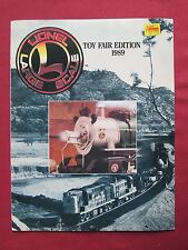 Lionel Large Scale  Model railway catalogue  Toy Fair Edition 1989