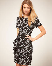 Oasis Rope Print Shift Dress 18