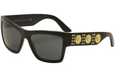 Versace Men's VE4289 VE/4289 GB1/87 Shiny Black/Gold Sunglasses 58mm