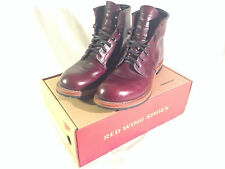 "Red Wing Boots Beckman Round 6"" 9011 Black Cherry 10 D Redwing - Like New"