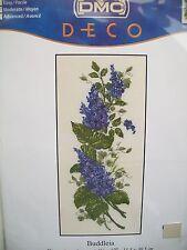 Buddleia Cross Stitch Kit by DMC Deco