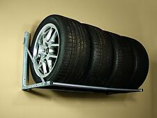 Folding Tire Loft Storage Rack Garage Shop Wall Mount Wheels Car Truck US Seller
