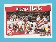 BASKETBALL - NBA PROPERTIES INC. - NBA HOOPS CARD NO. 274 - ATLANTA  HAWKS -1991