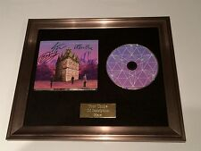 SIGNED/AUTOGRAPHED TEMPLES - SUN RESTRUCTURED FRAMED CD PRESENTATION. RARE