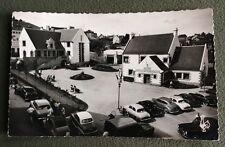 CPSM. ERQUY. 22 - La Cité administrative. La Mairie et le Bureau de Poste. 1961