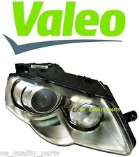 OEM VALEO GENUINE XENON VW PASSAT B6 HEADLAMP HEADLIGHT D1S H7 2006-2010 RIGHT
