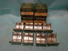 1936 37 38 Ford 221 Flanged Free Floating Rod Bearing Set 002 48-6211A 486200