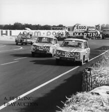Renault 1964 R8 Gordini Duo Speed racing photograph photo automobile