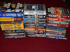 CLIVE CUSSLER U-Pick 4 PB Books: Dirk Pitt,Fargo+ Others.See listing for choices