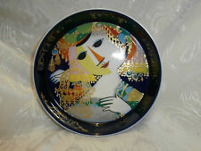 ROSENTHAL STUDIO LINE 100 YEARS ANNIVERSARY ROUND DISH  BY Bjorn Wiinblad SIGNED