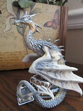 DRAGONSITE ANDREW BILL DRAGON FIGURINE WINTERS TAIL Munro Bookwyrms RETIRED!