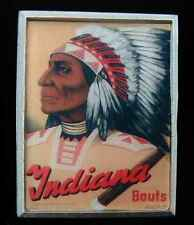INDIANA BOUTS RETRO STYLE BELT BUCKLE NEW!