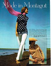 PUBLICITE ADVERTISING 014   1971   MONTAGUT   tricots