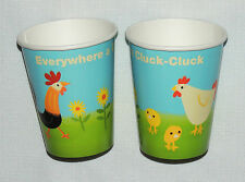 BARNYARD FARM EIEIO   8-PAPER CUPS 9oz. BIRTHDAY-CHILD HALLMARK  PARTY SUPPLIES