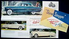 Prospekt brochure 1952 Packard 200 * 300 * Convertible * Mayfair (USA)