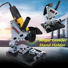 Electric Angle Grinder Stand Cutter Support Bracket Holder Dock Cast Iron Base