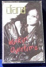 Diana Ross Workin' Overtime 10 track CASSETTE TAPE NEW! working