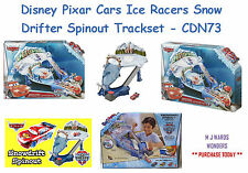 Disney Pixar Cars Ice Racers Snow Drifter Spinout Trackset CDN73 - ORDER TODAY