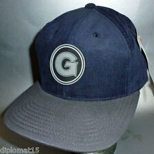 AMERICAN NEEDLE Vintage Snapback Cap NCAA Georgetown Hoyas 90s NOS NEU