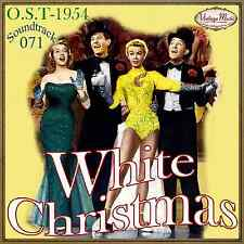 WHITE CHRISTMAS Soundtrack CD #71/100 O.S.T 1954 Bing Crosby Danny Kaye Peggy Le