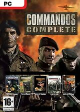 COMMANDOS EIDOS FULL COLLECTION FOR PC
