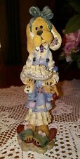 """Boyds Bears & Friends Folkstone Collection, """"Kissing Don't Last Cookery Do"""" 1995"""