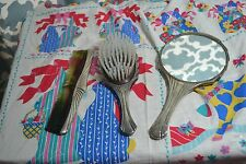 Towle Mirror Brush and Comb Vintage Vanity Set