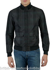 DOLCE & GABBANA Dark Grey Check COTTON & SILK Bomber Jacket BNWT ITA50 / Uk38-40