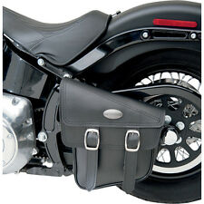 BLACK RUFFHYDE SWINGARM STORAGE BAG TWIN BUCKLES HARLEY SOFTAIL 00-14