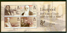 Isle of Man 2007 Liverpool 800 Years of Trade Miniature Sheet
