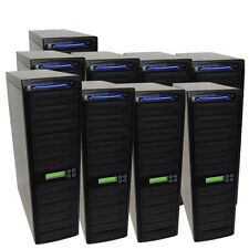 90 SATA Burner Blu-ray CD DVD Disc Daisy Chain Duplicator Multiple Tower Burner