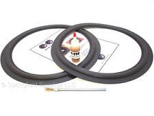 "2 Onkyo 15"" Speaker Foam Surround Repair Kit - S-55, S-58 - 2F15"