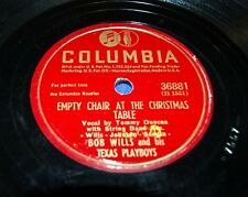 1945 BOB WILLS/TEXAS PLAYBOYS Empty Chair At The Christmas Table Columbia 36881