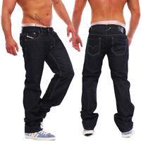 Diesel Jeans Larkee 008Z8 8Z8 Herren Hose Regular Straight dunkelblau NEU