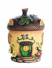 Miniature Fairy Garden of Enchantment Fairy Acorn Cottage Figurine Display 6.5""