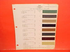 1937 OLDSMOBILE CONVERTIBLE CLUB BUSINESS COUPE TOURING SEDAN PAINT CHIPS OLDS