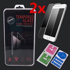 2xFür Apple iPhone 7 Panzerglas Schutzfolie Echt Glas Panzerfolie Tempered Glass
