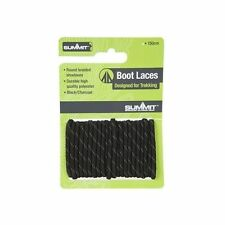 Summit 120cm Boot Laces Brown - Round braided  Walking Hiking laces