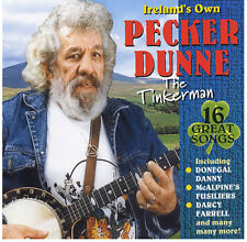 Pecker Dunne - The Tinkerman CD (Irish Folk) Songs of the Travelling People
