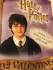 Harry Potter VALENTINES Day Cards NIB Chamber Secrets Warner Brothers Hermione