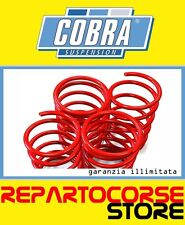 KIT 2 MOLLE ASSETTO RIBASSATE COBRA 35mm RENAULT MEGANE COACH COUPE 2.0 16V TÜV