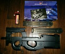 King Arms Airsoft P90 AEG Package