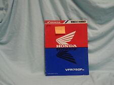 Honda VFR 750 F M Original Nachtrag 1990 Werkstatthandbuch Reparaturhandbuch