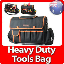 Tools Bag Heavy Duty Handyman Tradesman Electrician Tote Carry Tool Bag