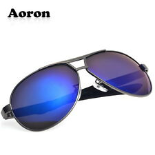 Mens Polarized Aviator Sunglasses Driving Glasses Riding Sports Eyewear Goggles