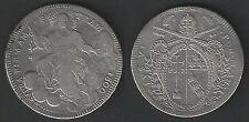 1800 Stato Pontificio Pio VII scudo in argento.